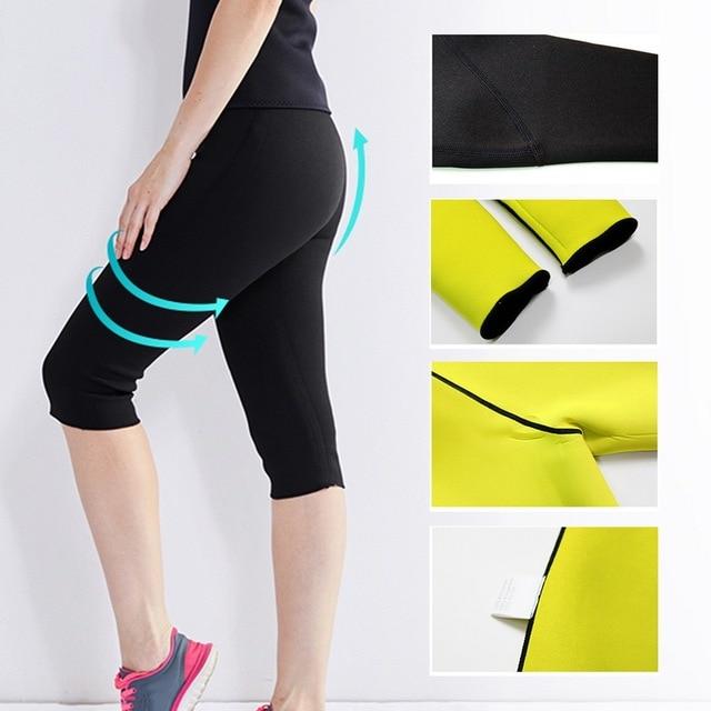 Women Slimming Pant Sweat Sauna Body Shaper Neoprene Belt Women Slimming Fat Burning  Neoprene Sauna Sweat 4