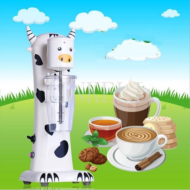 18 Бесплатная доставка коммерческий чай молоко смеситель одной головы молочный коктейль машина пить смеситель блендер молоко шейкер молоко