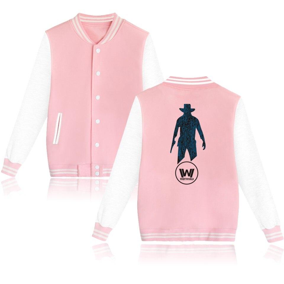 WESTWORLD Fashion font b Women b font Baseball Coat font b Jacket b font and West