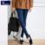 Venta caliente Skinny Jeans Mujer Otoño Nuevo 2016 Pantalones Vaqueros Del Lápiz Para Las Mujeres Moda Delgado Tobillo-Longitud de Los Pantalones Vaqueros de Las Mujeres Pantalones de Mezclilla impresa