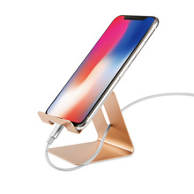 Get more info on the JXSFLYE Aluminium Alloy Mobile Phone Holder Tablet Holder Metal Stand Support Display Table Holder Universal for iphone XS Max