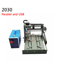 3axis cnc milling machine 2030 diy woodworking cnc router 2 in 1 Parallel port and USB work area 200*300*75mm