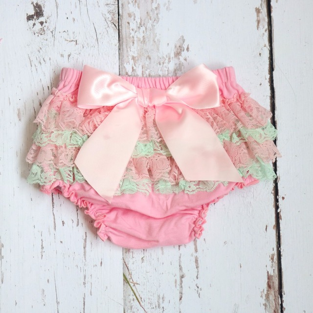 0ae019dd9 Baby short kid Cotton Ruffle Bloomers cute Baby Diaper Cover Newborn Flower  Shorts Toddler fashion Summer Satin Pants with Skirt