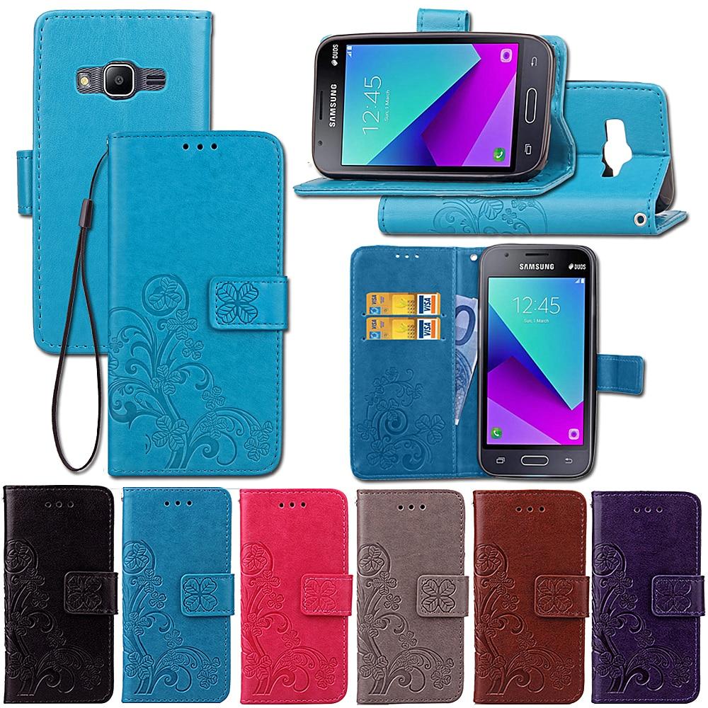 For Coque Samsung Galaxy J1 Mini Prime Leather Wallet Flip Case J1 Mini Prime SM-J106F Cases For Samsung Galaxy J1 Mini Prime