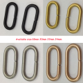 wholesale 22mm 10pcs Black gold rose gold silver Round PVD Plating Nylon Watch Band Zulu Rings Buckle Nylon Watch accessories