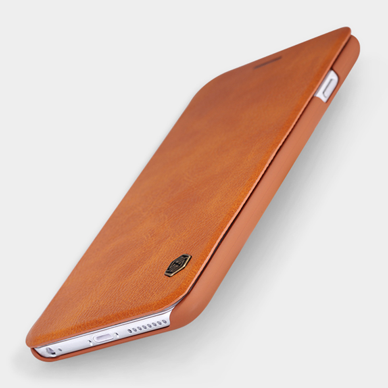 PC and Leather Ultra thin Flip Case For Apple iPhone 6 Case 6S 6 S Plus