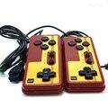 2 unids gamepad Especial, manejar la NES 9 pin socket mango gamepads controlador longitud de Línea de 1.8 metros