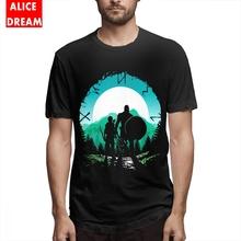 Kratos And Son God Of War Tee Shirt Men Retro Homme Crewneck S-6XL Big Size