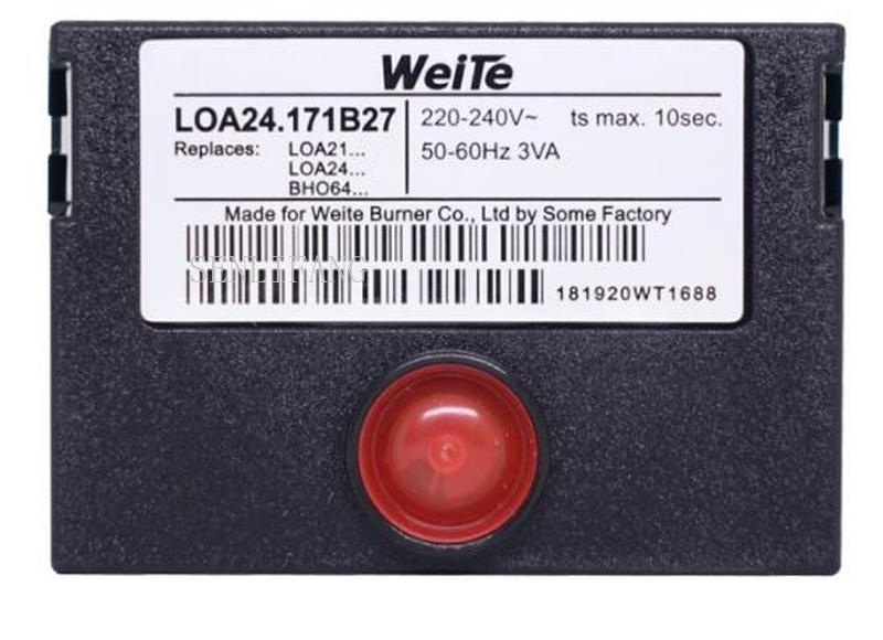 NEW LOA24.171B27 Mechanical Control Box Burner Sequencer PLC Control Box For Oil Burner Replace SIEMENS/SUDICK LOA24.171B27