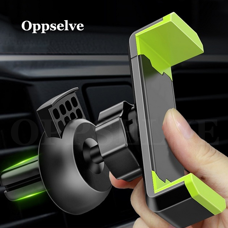 Car Phone Holder For IPhone XS Max X 8 7 Samsung S10 S9 Air Vent Mount Car Holder For Phone In Car GPS Mobile Phone Holder Stand