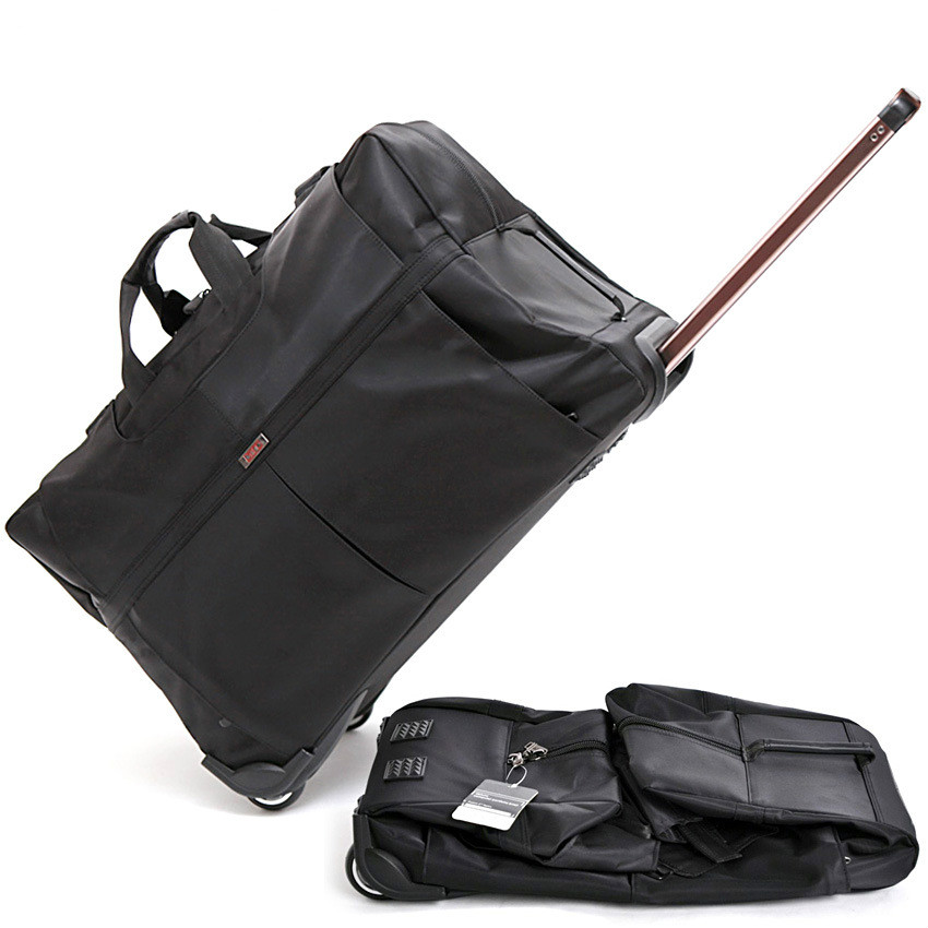 Large capacity rod bags. Oxford seaman luggage travel package export consignment package