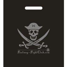 200PCS W35*H45cm (13.8' *17.7') custom logo free printed plastic packing bags/handle cloting bags with logo custom shopping bags