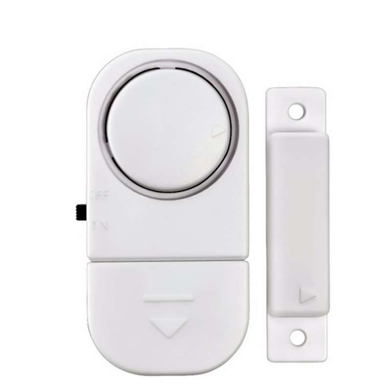 NEW 95dB Wireless Home Window Door Burglar Security Alarm System Magnetic Sensor for Home Security System self adhesive wireless magnetic sensor home door window entry burglar security alarm safety guardian protector system white new