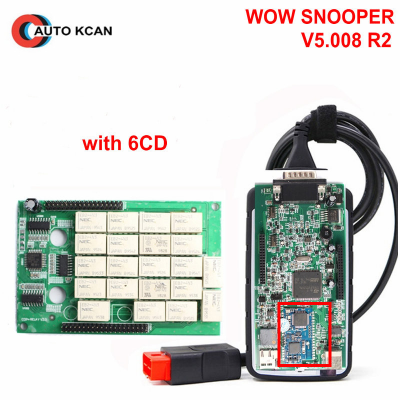 snooper obd  מוצר - A+++ OBD ADAPTER WOW SNOOPER V5.008.R2 Bluetooth NEC Relays ...