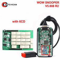 A+++ OBD ADAPTER WOW SNOOPER V5.008.R2 Bluetooth NEC Relays Better Than TCS CDP PRO Plus MVDiag For Cars&Trucks diagnostic tool
