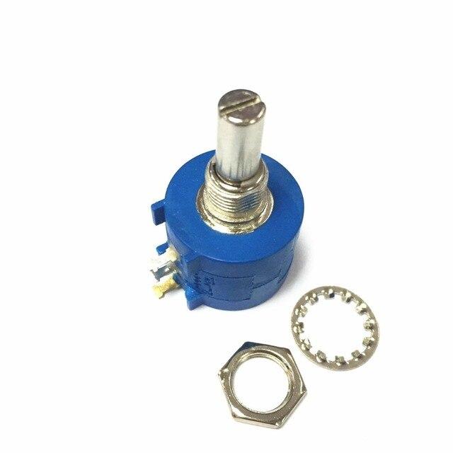 Frete grátis pcs 3590S 2 103L 10 10 k ohm Rotary Wirewound Precision Potentiometer Resistor Variável Potenciômetro 10 Transformar