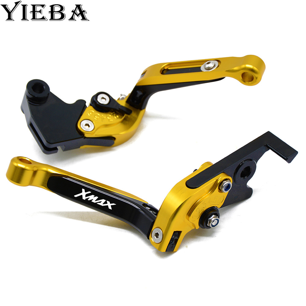 FOR YAMAHA XMAX 125 200 250 400 all years motorcycle accessories CNC aluminum motor adjustable brake