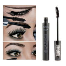 2PC three-dimensional multi-functional eye essence waterproof liquid fiber long black eyelashes make-up