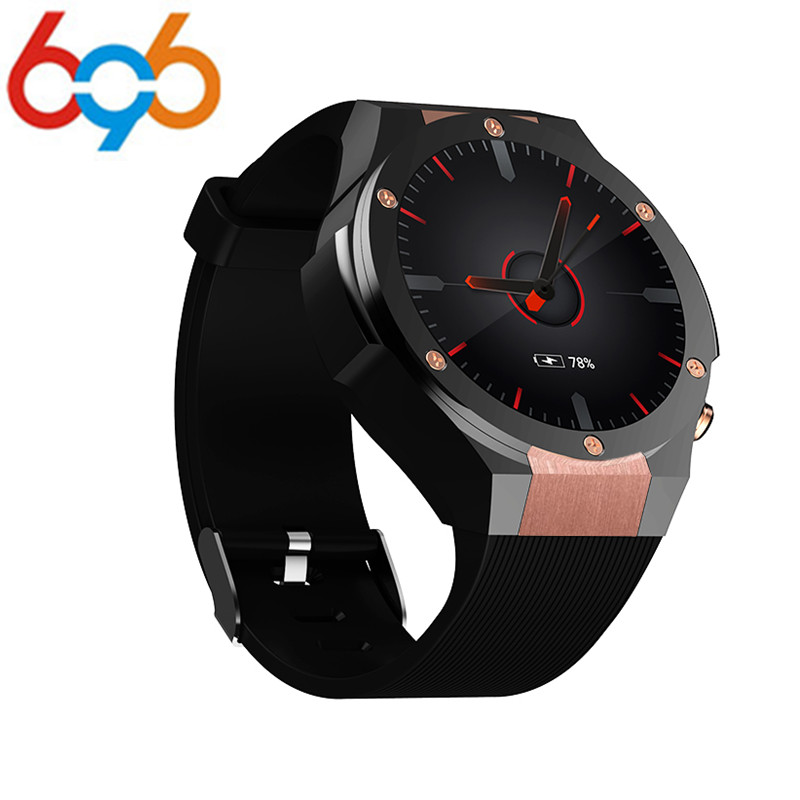 696 H2 Android 5.1 MTK6580 1GB 16GB Heart Rate Smart Watch Clock With GPS Wifi 5MP Camera Smartwatch For Android iOS Phone средство чистящее dec д прочистки труб гель 1л