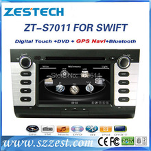 ZESTECH High performance HD digital touch screen Car Dvd player for Suzuki SWIFT 2004-2010 Car Dvd player with radio,RDS,3G
