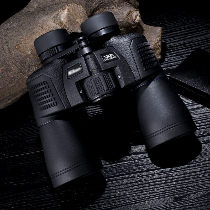 Binoculars Telescope 10x50 Optical Hunting Tourism Sports Large Eyepiece Waterproof High Times Travel Vision Scope Binoculars new 60x60 optical telescope night vision binoculars high clarity 3000m binocular spotting scope outdoor hunting sports eyepiece