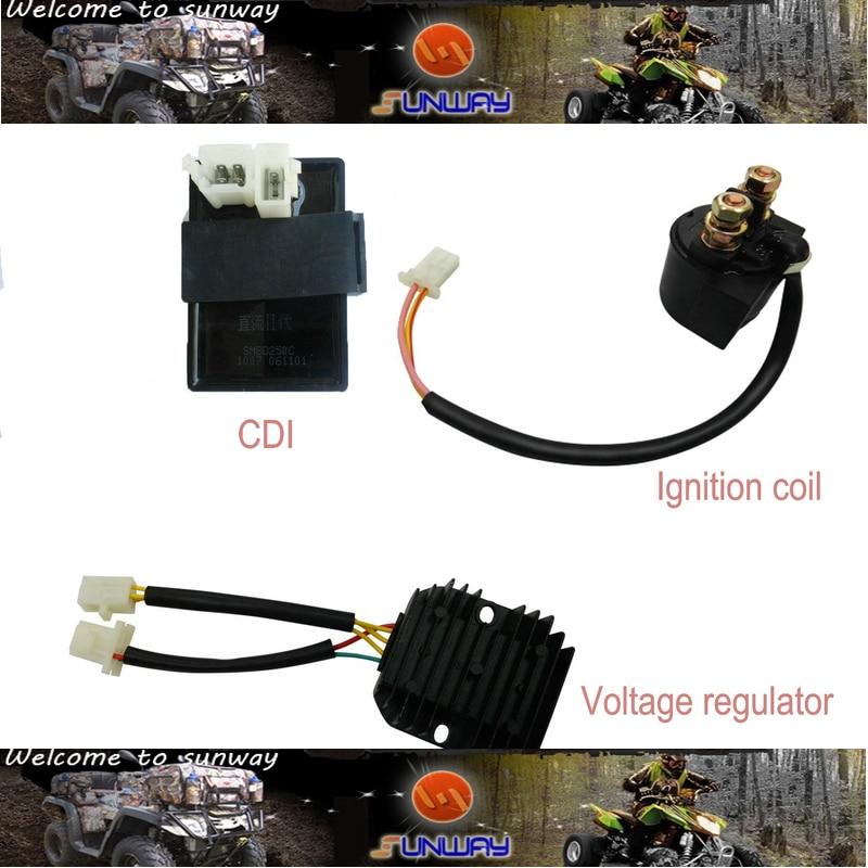 Régulateur de tension électrique CDI moto YIMATZU pour Scooter moto CFOMOTO CF250 CH250