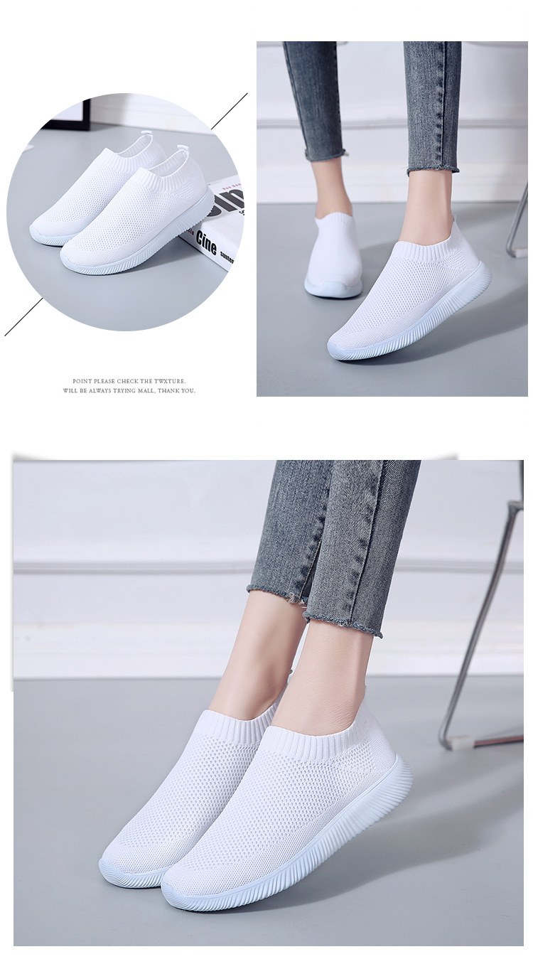 HTB1A5YTaIrrK1Rjy1zeq6xalFXaM - Women Sneakers Fashion Socks Shoes Casual White Sneakers Summer knitted Vulcanized Shoes Women Trainers Tenis Feminino