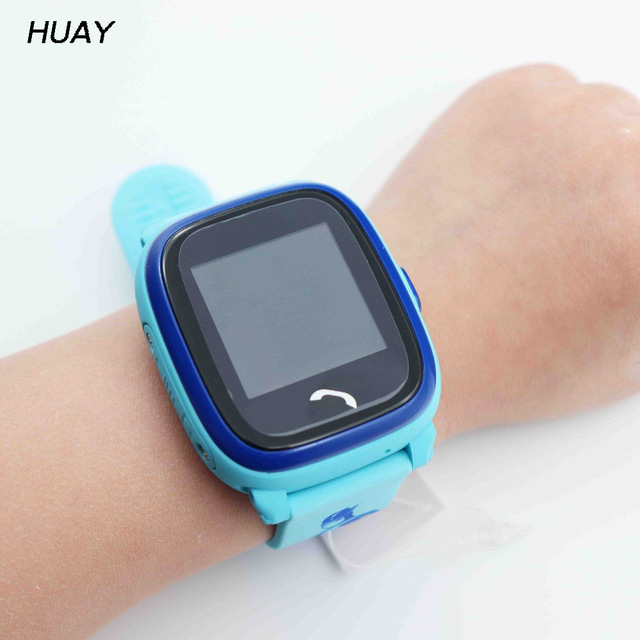 GPS Tracking Watch For Kids Swim touch screen Waterproof IP67 SOS Emergency Call