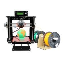 Geeetech 3d-принтер Reprap Prusa I3 Impressora 3d DIY Комплекты & Собранный Печатная Машина Delta Алюминий