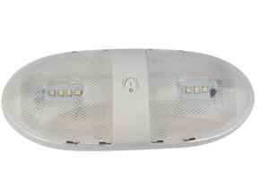 Image 1 - 16LED מתקן לבן תקרת מנורת 12 V סירת Camper קרוואן ימי יאכטה כיפת אור רכב פנים מנורה