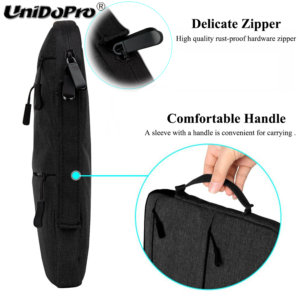 Unidopro Classic Sleeve Briefcase Handbag Case for Samsung Galaxy TabPro S W703 T900 Note Pro P900 Tablet PC Carrying Bag Cover