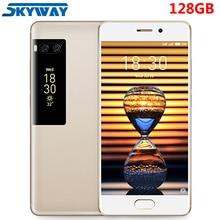 Orijinal Meizu Pro 7 4G LTE cep telefonu 4 GB 128 GB Helio X30 Deca Çekirdek 5.2