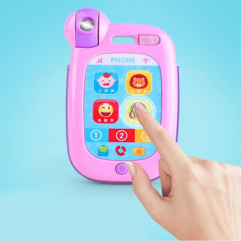 1 Pc Kunststoff Frühen Pädagogisches Elektrische Musik Licht Handy Spielzeug Für Kinder Cartoon Vorschule Werkzeuge Lustige Spiel Nette Geschenke Seien Sie Im Design Neu