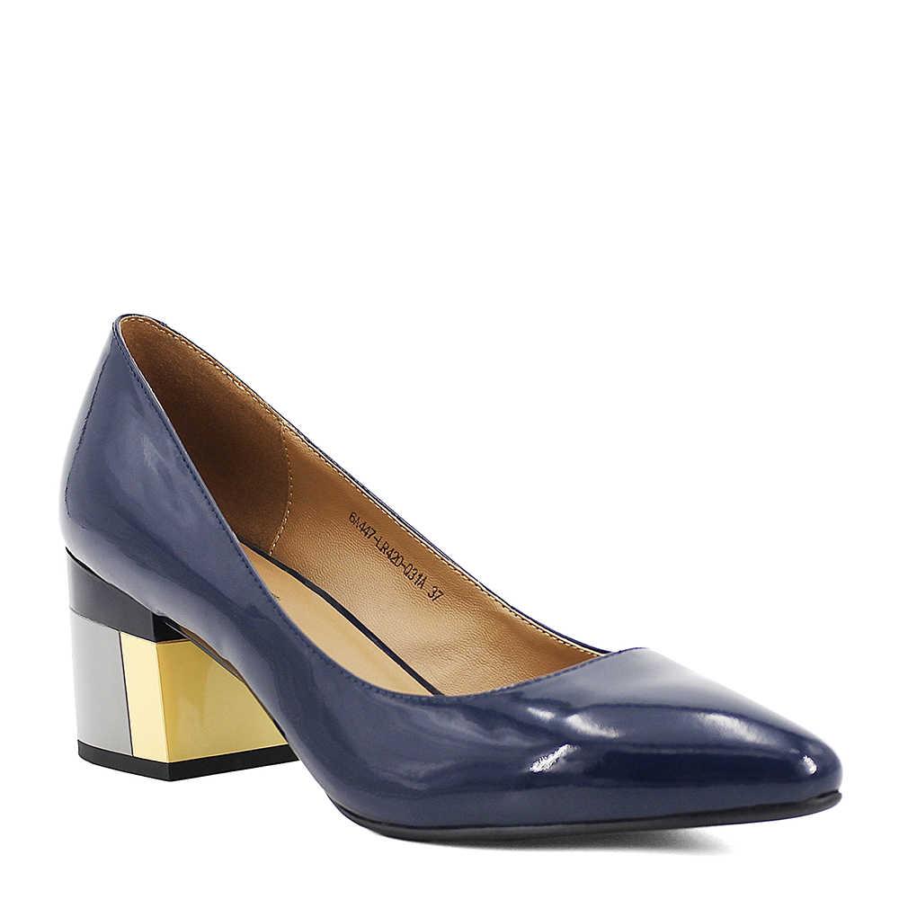 SOPHITINA marka ayakkabı kalın topuk bayan pompaları rugan sivri burun renkli kare topuklu parti el yapımı ayakkabı kadın D13