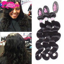 Stema Hair Company Cheap Brazilian Virgin Hair Body Wave 3 Bundles 100 % Brazilian Human Hair Weave 7A Overnight Shipping Dh