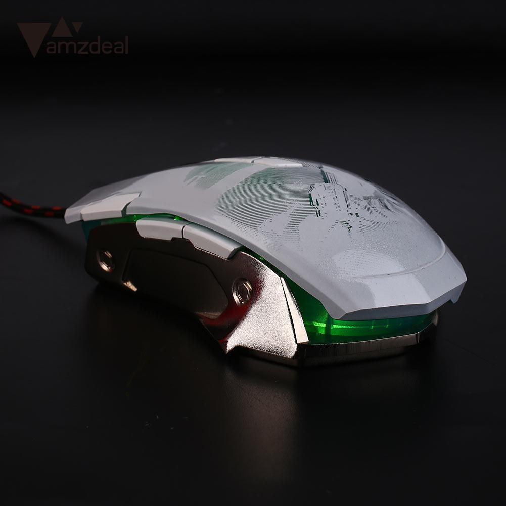8 touches souris optoélectronique USB souris filaire souris optique Gaming mode tablette Durable