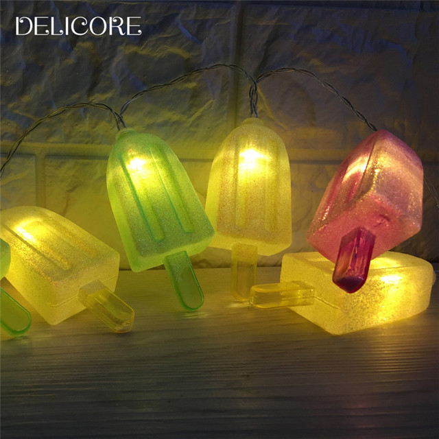 Patio Decorative Lights Delicore 10 led popsicle string lights christmas light decorative delicore 10 led popsicle string lights christmas light decorative lighting for home garden patio lawn party workwithnaturefo