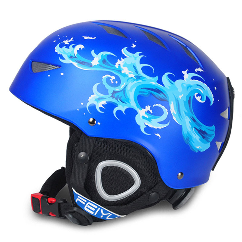 new one-piece high-end Kids ski helmet extreme sports protective gear veneer double plate warm wind Snow Helmets Childrennew one-piece high-end Kids ski helmet extreme sports protective gear veneer double plate warm wind Snow Helmets Children