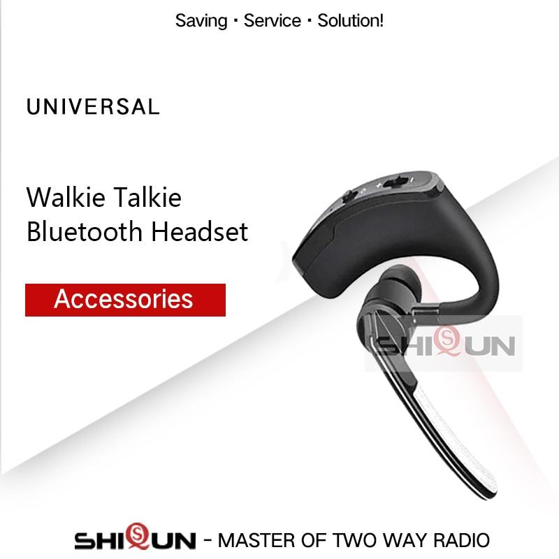 Wireless Walkie Talkie Bluetooth Headset Earpiece For Motorola KENWOOD Headset Baofeng UV 5R UV 82 Earphone