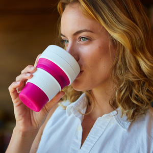 Image 3 - STOJO CUP Folding Silicone Portable Silicone coffee cup multi function folding silica cup Office travel Essential