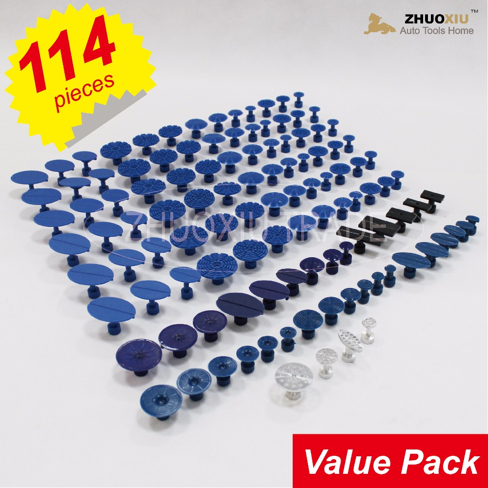 114pc PDR Tool Dent Lifter Glue Tabs Kit(TAB-114) биология 6класс учебник