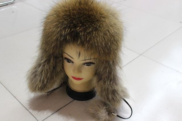 2013 fur fox fur ear protector thermal thickening cap hat