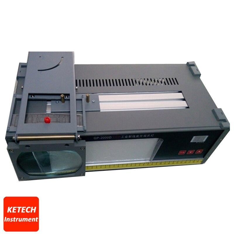 GP-2000D LED radiographique industrielle LED visionneuse de Film LED industrielle