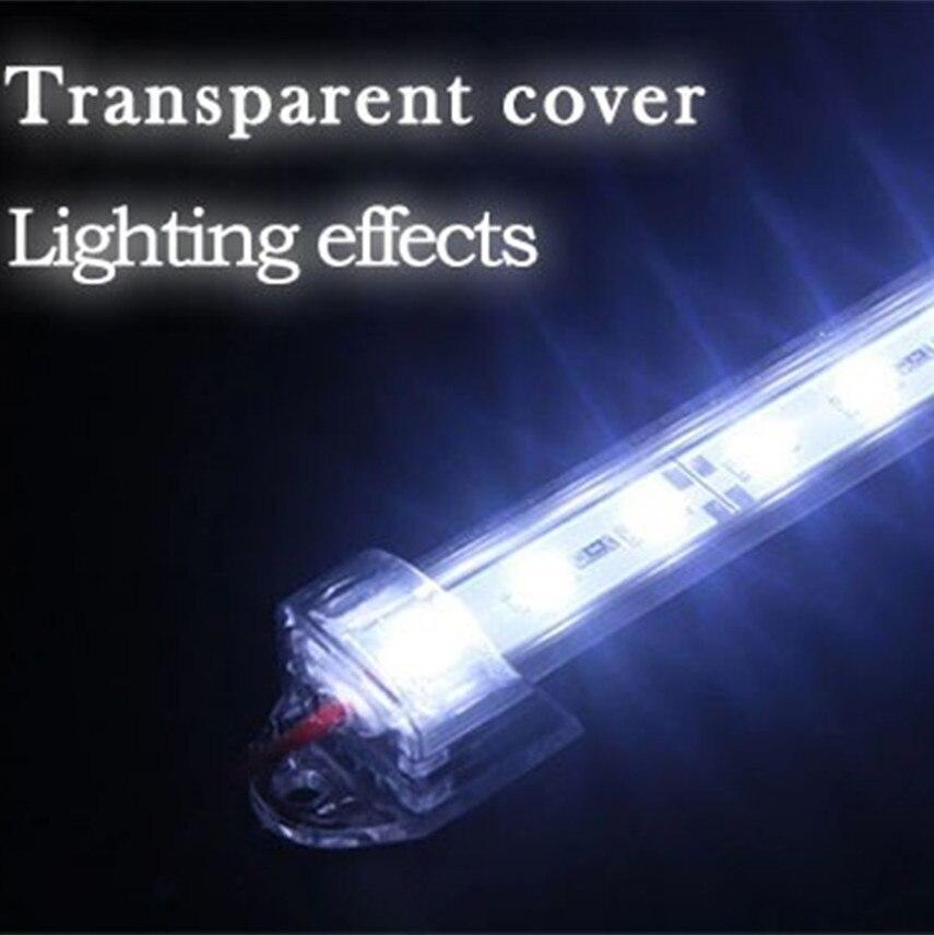 10 stks 50 cm 5630 5730 36led dc12v harde stijve bar strip met U - LED-Verlichting - Foto 5