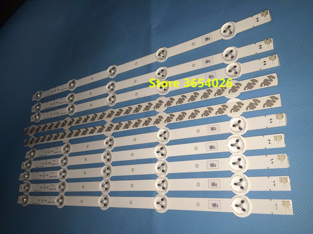 10piece/lot   395mm LED Backlight Lamp Strip 5leds For Sony 40 Inch TV KLV-40R470A SVG400A81 REV3 121114 S400H1LCD-1
