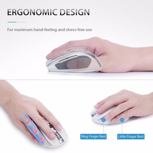Image 3 - VicTsing אלחוטי 2.4G עכבר נייד אופטי עכברים עם USB מקלט 5 מתכוונן DPI רמת 6 כפתורי נייד