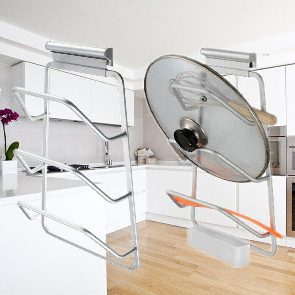 New Design Organizador Cozin Kitchen Space Saver Cabinet Door Pot