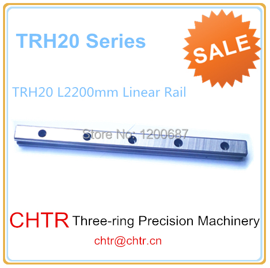 High Precision Low  Manufacturer Price 1pc TRH20 Length 2200mm Linear Guide Rail Linear Guideway for CNC Machine high precision low manufacturer price 1pc trh20 length 2300mm linear guide rail linear guideway for cnc machiner
