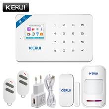 APP Control WIFI GSM SMS Home Burglar Security Alarm Systems PIR Motion detector Touch Screen Alarm Panel  Sensor Alarm
