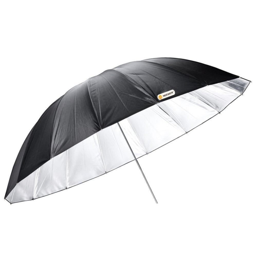 купить Neewer Professional 55/140cm Reflector Umbrella for Studio Light Flash Black дешево